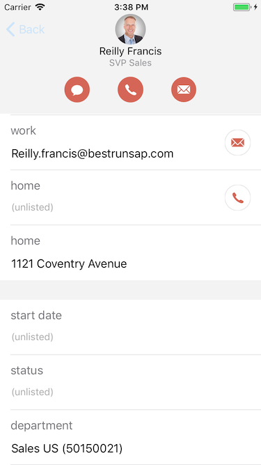 another screenshot with more details for a contact