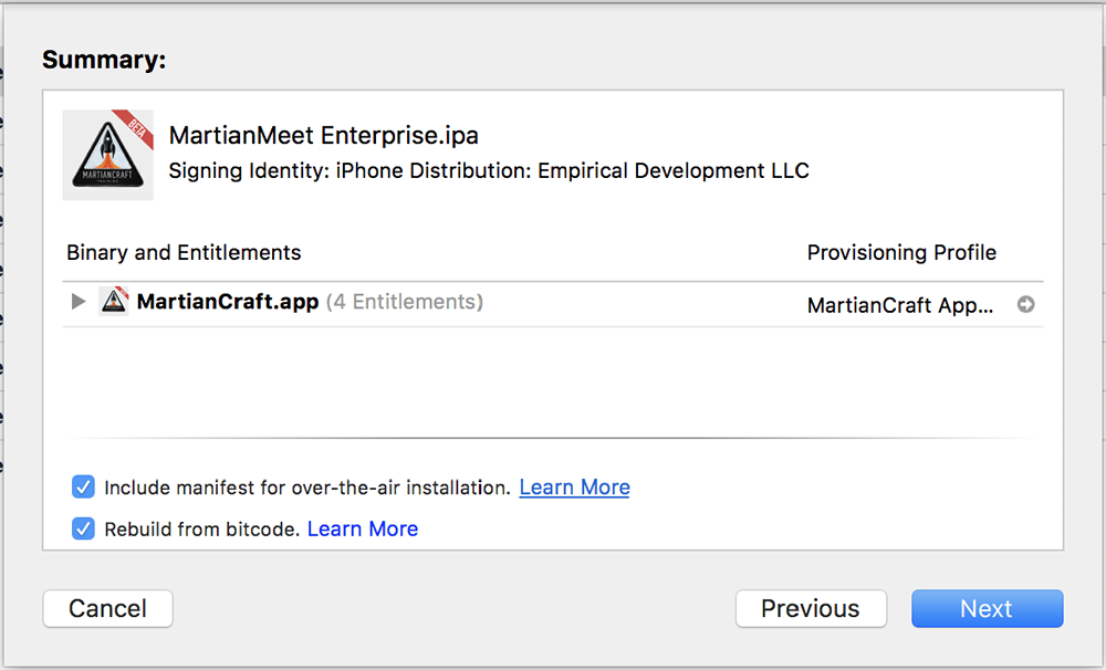 Creating Enterprise iOS App Download Pages