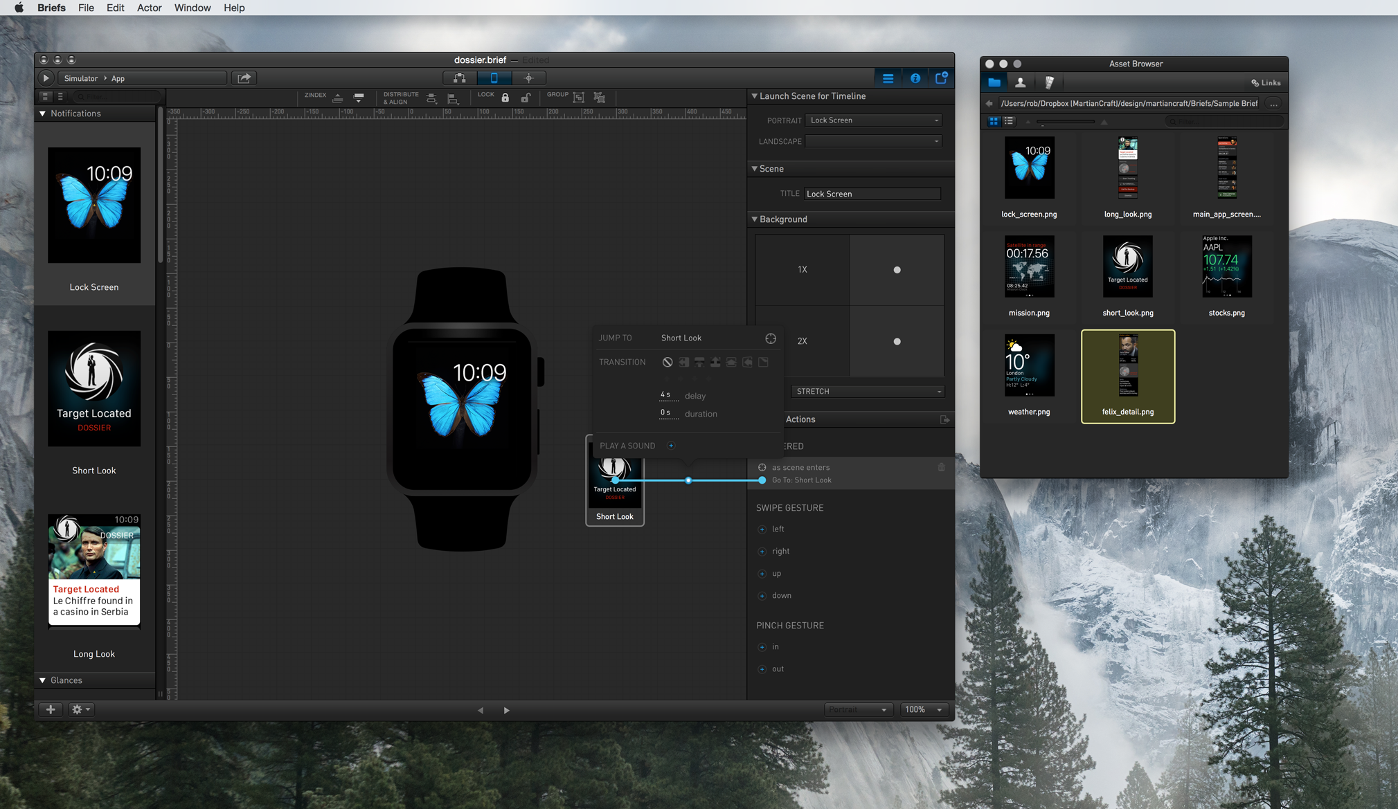 briefs 1.3 desktop