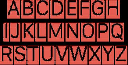 Alphabet Sidebars