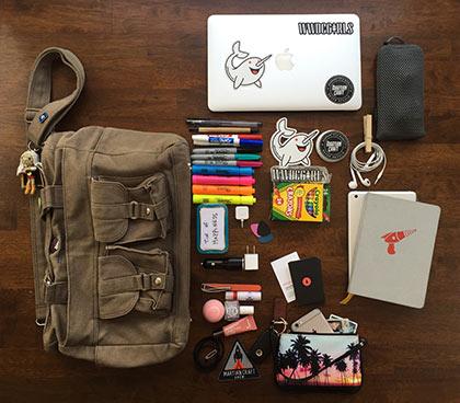 What Jaimee carries