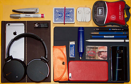 What Thomas carries