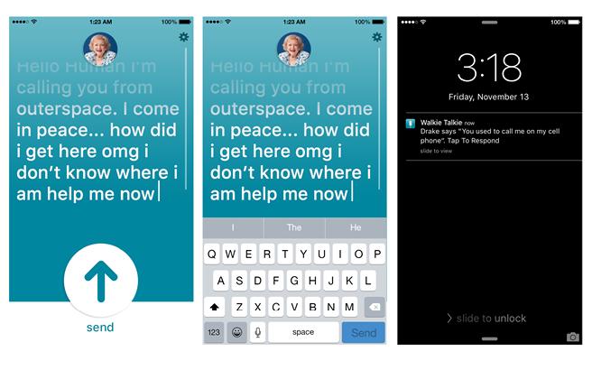 Walkie Talkie App